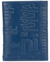 Baldinini - Embossed Logo Cardholder - Lyst