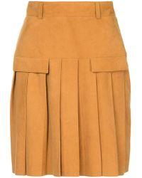 Kitx - Intuitive Pleat Mini Skirt - Lyst