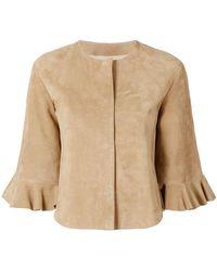 DROMe - Frill Sleeve Jacket - Lyst
