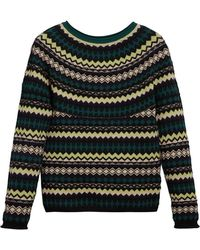 Burberry - Fair Isle Sweater - Lyst