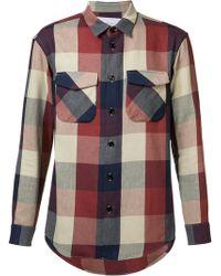 Julien David - Flap Pocket Shirt - Lyst