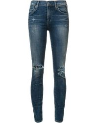 Citizens of Humanity - High-waisted Skinny Jeans - Lyst