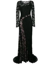 Olvi ́S - Lace-embroidered Maxi Dress - Lyst