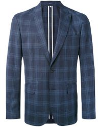 Hardy Amies - Checked Blazer - Lyst