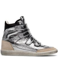 Isabel Marant - Bilsy 35 Wedge High-top Trainers - Lyst
