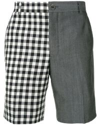 Thom Browne - Pantalones cortos gingham - Lyst