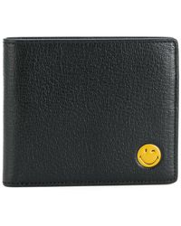Anya Hindmarch - Smiley Folded Wallet - Lyst