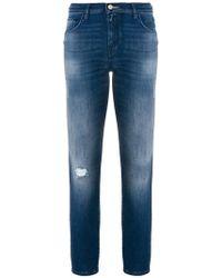 Jacob Cohen | Slim Handkerchief Jeans | Lyst