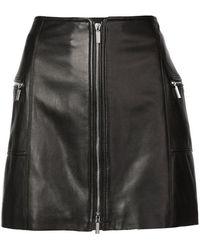 Jonathan Simkhai - High Waisted Mini Skirt - Lyst
