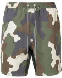 The Upside - Camouflage Shorts - Lyst