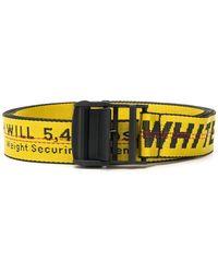 Off-White c/o Virgil Abloh - Oversized Logo Belt - Lyst