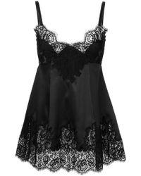 Dolce & Gabbana - Lace Insert Cami Top - Lyst