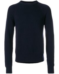 Cedric Charlier - Classic Knitted Sweater - Lyst