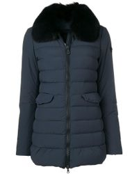 Peuterey - Fur Collar Padded Jacket - Lyst