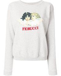Fiorucci - Logo Print Sweatshirt - Lyst