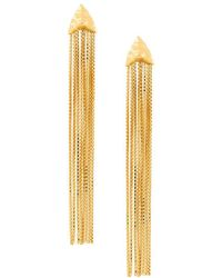 Rachel Entwistle - Primitive Draped Earrings - Lyst