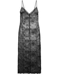 Twin Set - Sheer Lace Dress - Lyst