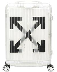 Off-White c/o Virgil Abloh - Trolley trasparente X Rimowa - Lyst
