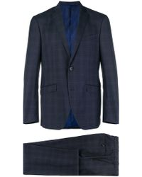 Etro - Two-piece Check Suit - Lyst