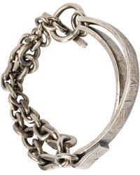 Tobias Wistisen - Double Wire Bracelet - Lyst