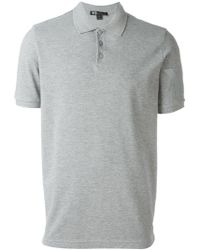 709962ca982e Lyst - Y-3 Logo Print Classic Polo Shirt in Black for Men