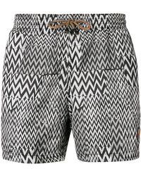 Missoni - Zig-zag Print Swim Shorts - Lyst