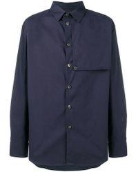 KENZO - Trench Shirt - Lyst