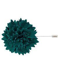 Lanvin - Flower Brooch - Lyst