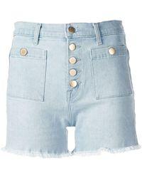 J Brand - Joan High-waist Denim Shorts - Lyst
