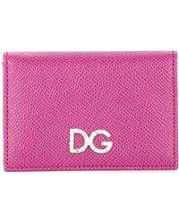 Dolce & Gabbana - Logo Plaque Wallet - Lyst