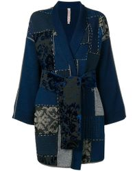 Antonio Marras - Patch-work Fitted Coat - Lyst