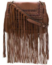 Etro - Fringed Shoulder Bag - Lyst