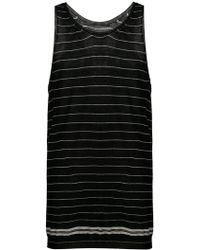 Haider Ackermann - Striped Tank Top - Lyst