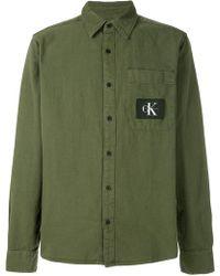 Calvin Klein Jeans   Wesp Regular Fit Shirt   Lyst