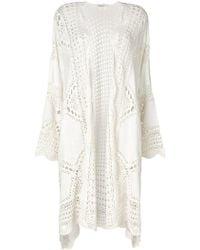 Mes Demoiselles - Crochet Stitched Cardi-coat - Lyst