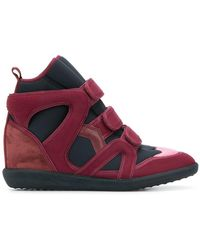 Isabel Marant - Buckee Wedge Sneakers - Lyst