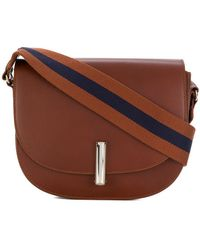 A.P.C. - Push Lock Satchel Shoulder Bag - Lyst