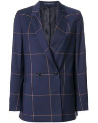 Paul Smith - Checked Jacket - Lyst