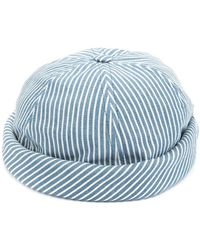 Beton Cire - Miki Striped Sailor Cap - Lyst