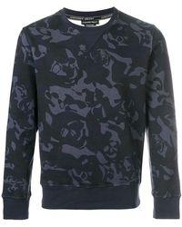 Alexander McQueen - Skull Camouflage Sweatshirt - Lyst
