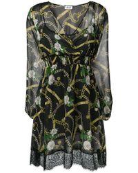 Liu Jo - Chain Print Mini Dress - Lyst