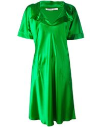 Stephan Janson   V-neck T-shirt Dress   Lyst