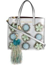 Marc Jacobs - Embellished Mini Grind Bag - Lyst