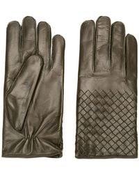 Bottega Veneta - Nappa Leather Gloves - Lyst
