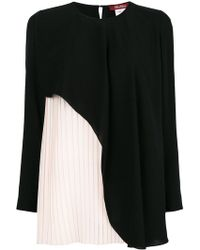 Max Mara - Contrast Layered Blouse - Lyst