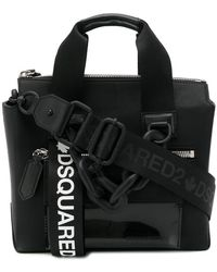 DSquared² - Small Buckled Tote Bag - Lyst