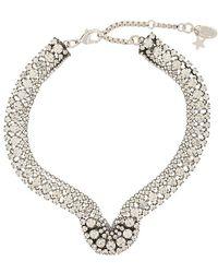 Rada' | Embellished Crystal Necklace | Lyst
