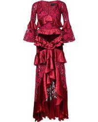 Romance Was Born - Crimson Magnolia Gown - Lyst