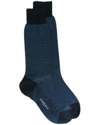 Canali - Classic Socks - Lyst