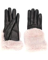 Gala - Fur-trim Gloves - Lyst